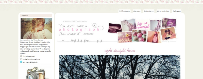 Bloggdesign fra 2012