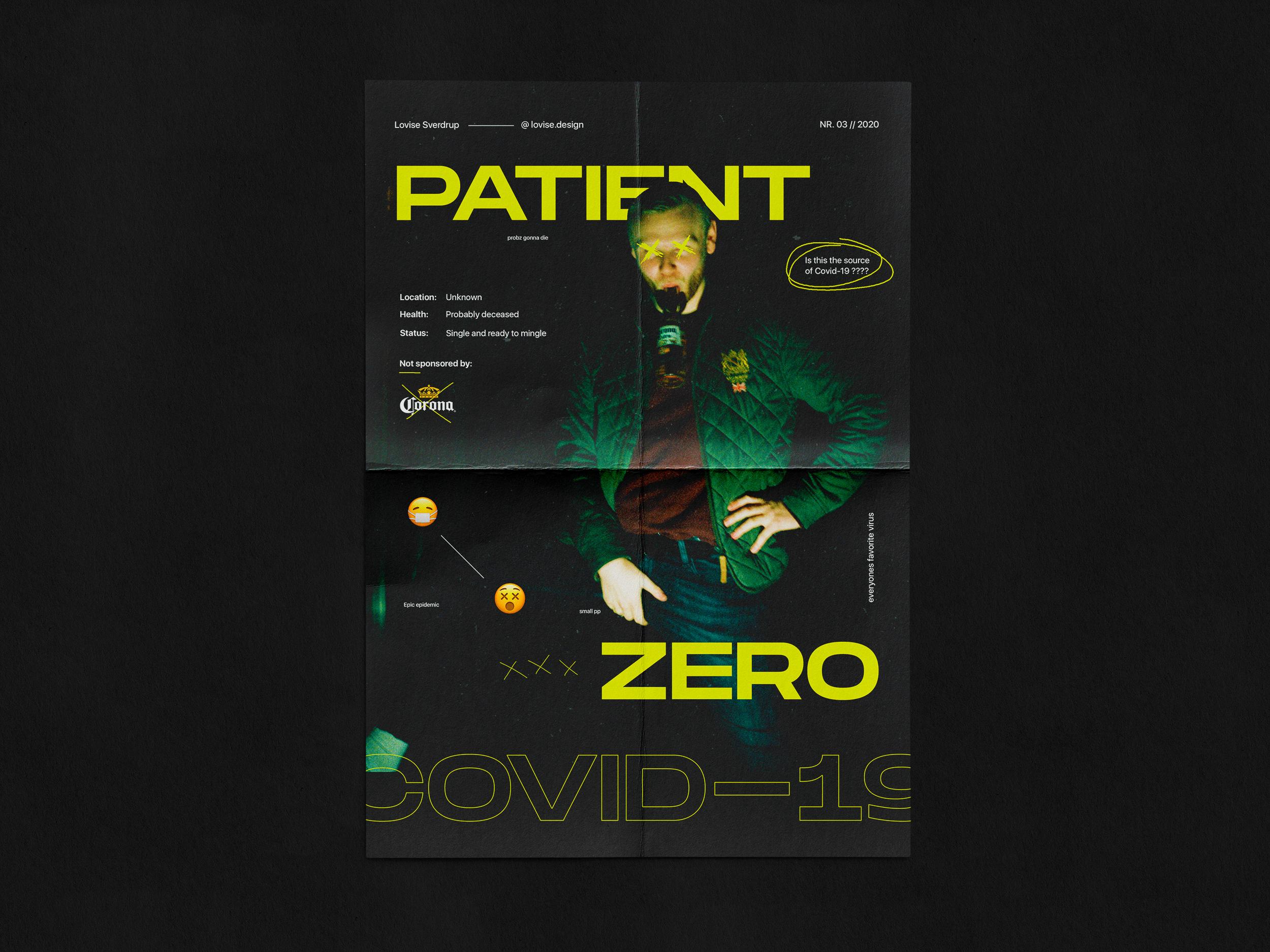 Patient Zero plakat